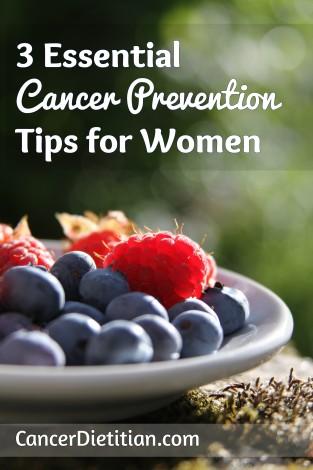 cancer prevention tips for women