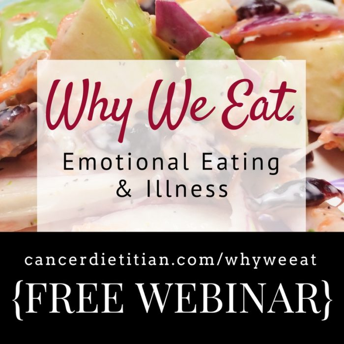 Why We Eat Emotional Eating Webinar